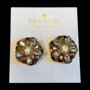 New Kate Spade Sparkly Glam shine on Earrings!